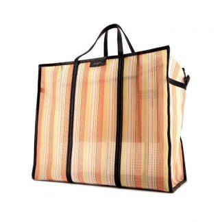 9aad154c6f23 High Quality Balenciaga Replica Bazar shopper size XL shopping bag in  orange