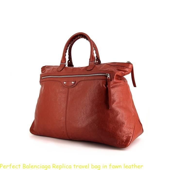 Perfect Balenciaga Replica travel bag in fawn leather – Buy Best Designer Replica  Handbags  0b575267fda13